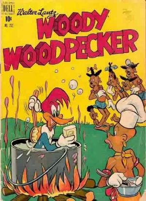 Comic Cover for Woody Woodpecker (Four Color) (#232)