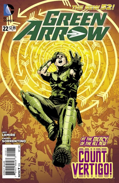 (DC) Cover for Green Arrow #22