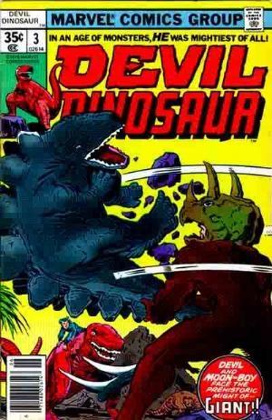 (Marvel) Cover for Devil Dinosaur #3
