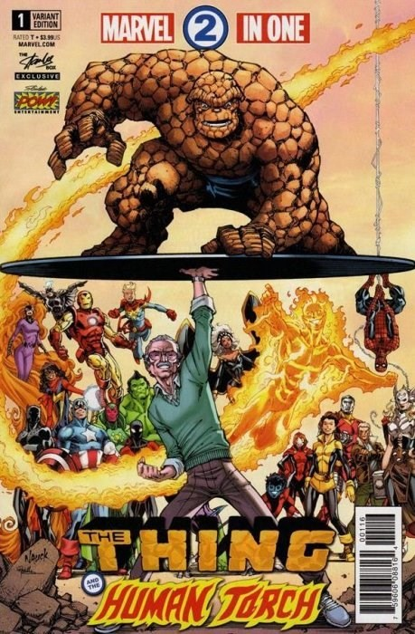(Marvel) Cover for Marvel 2-In-One #1 Stan Lee Box Exclusive