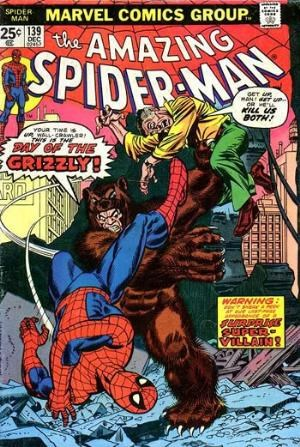 Comic Cover for Amazing Spider-Man (#139)