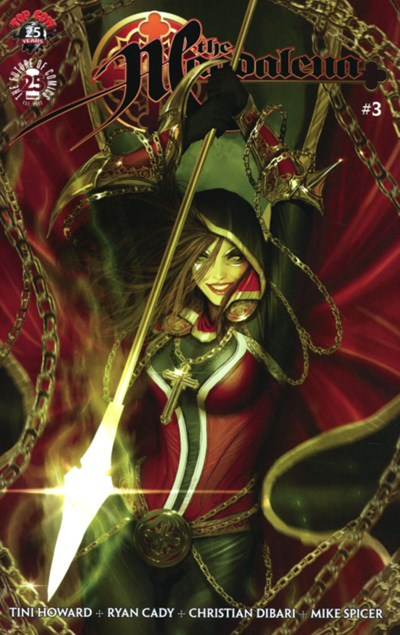 (Top Cow) Cover for Magdalena #3 Spawn Month Variant Cover by Stjepan Sejic