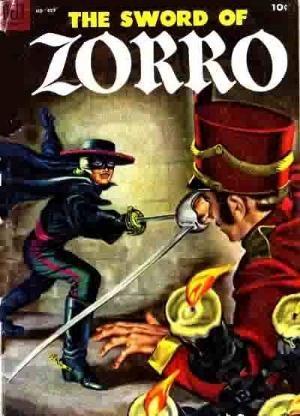 (Dell) Cover for Zorro (Four Color) #497 Not Disney/The Sword Of Zorro/Art by Kinstler