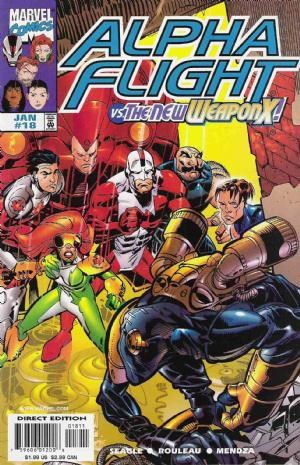 Comic Cover for Alpha Flight (#18)
