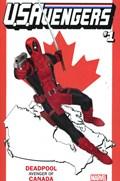 U.S.AVENGERS #1K  Variant Cover Rod Reis Canada Variant Cover