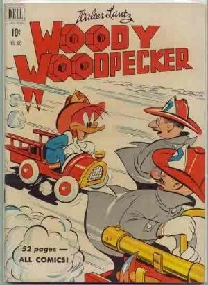 Comic Cover for Woody Woodpecker (Four Color) (#305)