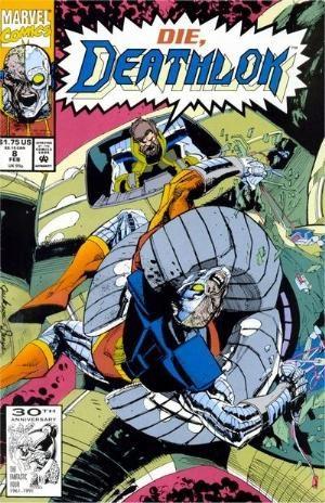 (Marvel) Cover for Deathlok #8