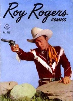 Comic Cover for Roy Rogers Comics (Four Color) (#109)