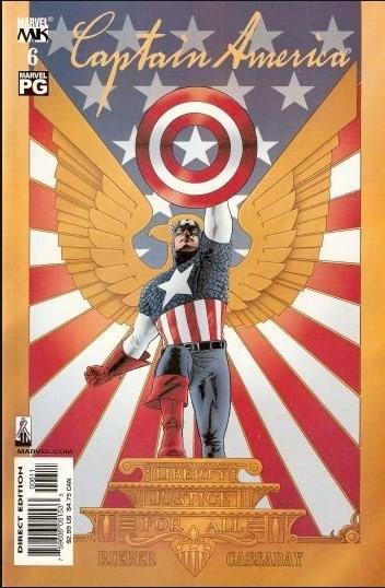 Comic Cover for Captain America (#6)