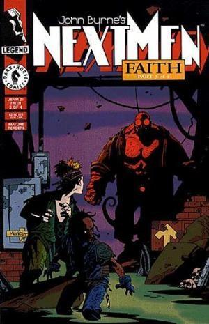 Comic Cover for John Byrnes Next Men (#21)