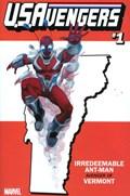 U.S.AVENGERS #1ZZ  Variant Cover Rod Reis Vermont State Variant Cover