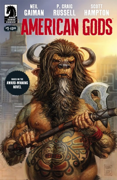 Comic Cover for AMERICAN GODS (#)