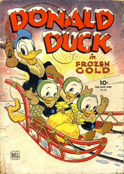 Comic Cover for Donald Duck (Four Color) (#62)