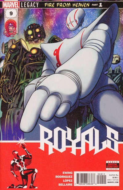 Comic Cover for Royals (#9)