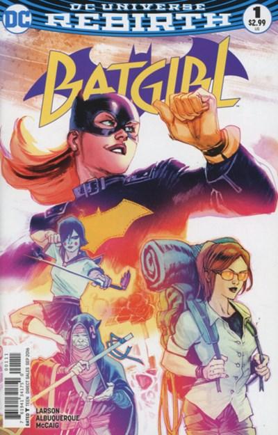 (DC) Cover for Batgirl #1