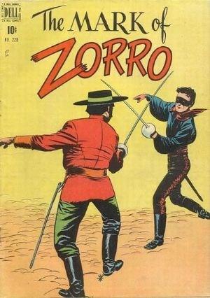 Comic Cover for Zorro (Four Color) (#228)