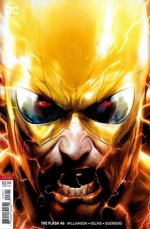 (DC) Cover for Flash, The #46 Francesco Mattina Variant Cover