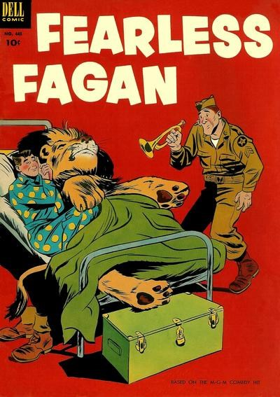 Comic Cover for Fearless Fagan (Four-Color) (#441)