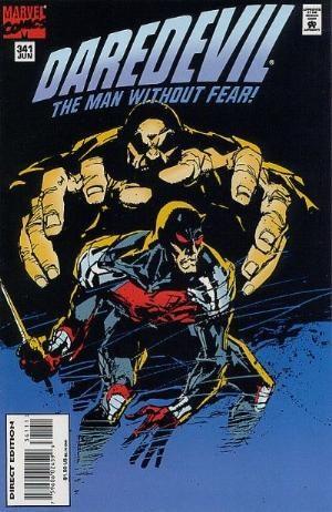 Comic Cover for Daredevil (#341)