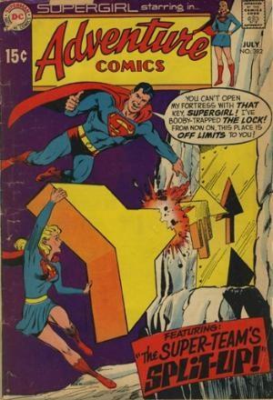 (DC) Cover for Adventure Comics #382