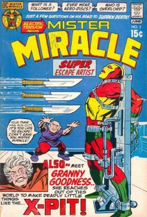 Comic Cover for Mister Miracle (#2)
