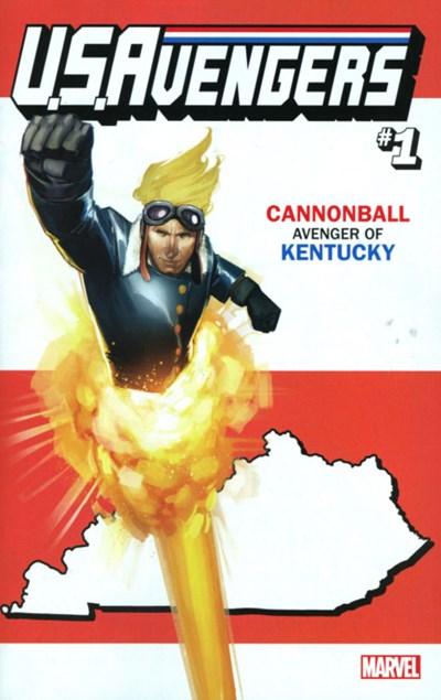 (Marvel) Cover for U.S.Avengers #1 Rod Reis Kentucky State Variant Cover