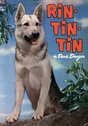 (Dell) Cover for Rin Tin Tin (Includes Four-Color)  #1 Four-Color No. 434