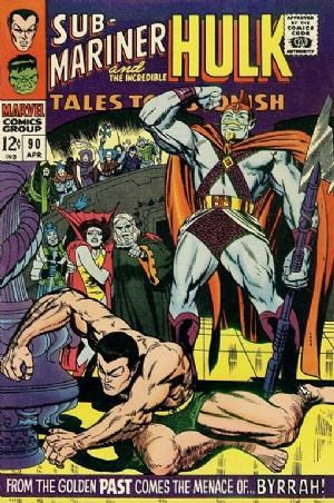 (Marvel) Cover for Tales To Astonish #90 1st Appearance of The Abomination (Emil Blonsky), 1st Silver Age Appearance of Byrrah