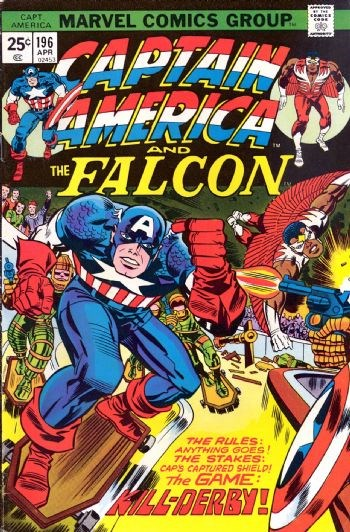 Comic Cover for Captain America (#196)
