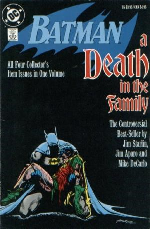 (DC) Cover for Batman: A Death In The Family #1 1st Print. Death of Jason Todd.