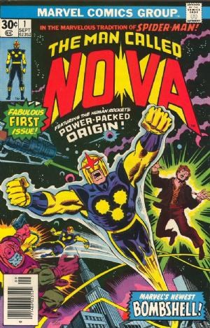 Comic Cover for NOVA (#)
