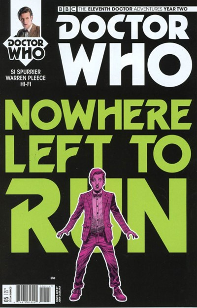 (Titan) Cover for Doctor Who: The Eleventh Doctor Year Two #5 Cover A by Joshua Cassara