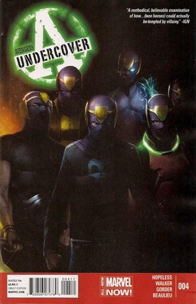 (Marvel) Cover for Avengers Undercover #4