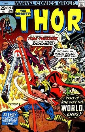 Comic Cover for Thor (#244)