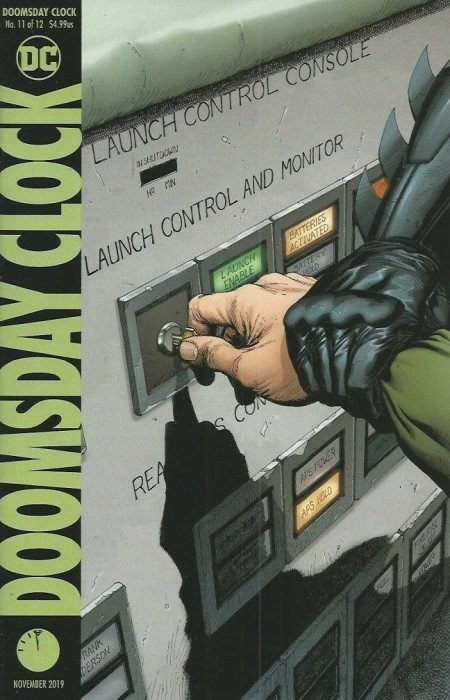 (DC) Cover for Doomsday Clock #11