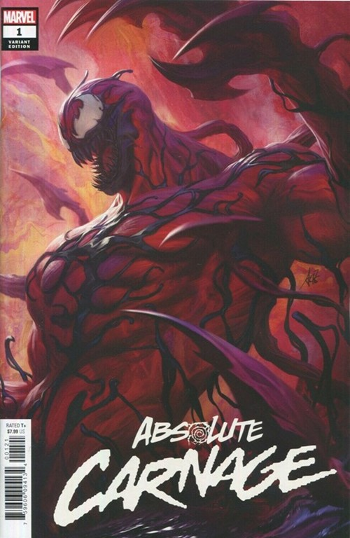(Marvel) Cover for Absolute Carnage #1 Stanley 'Artgerm' Lau Variant Cover