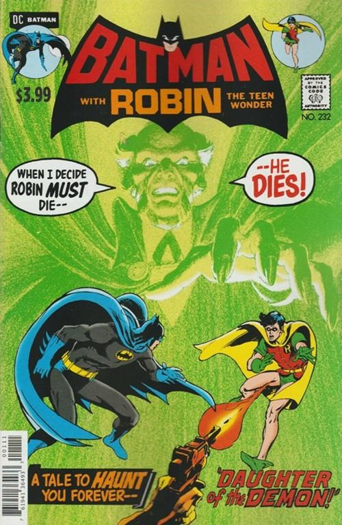 (DC) Cover for Batman #232 Facsimile Edition