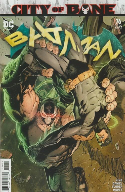 (DC) Cover for Batman #76