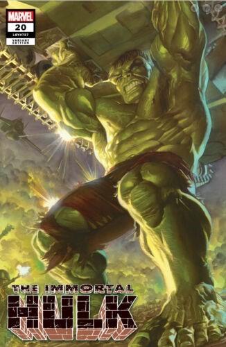 (Marvel) Cover for Immortal Hulk #20 AlexRossArt.com 2019 SDCC Exclusive Alex Ross Variant Cover