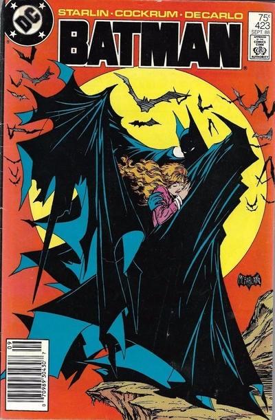 (DC) Cover for Batman #423 Todd McFarlane's Classic Batman Cover