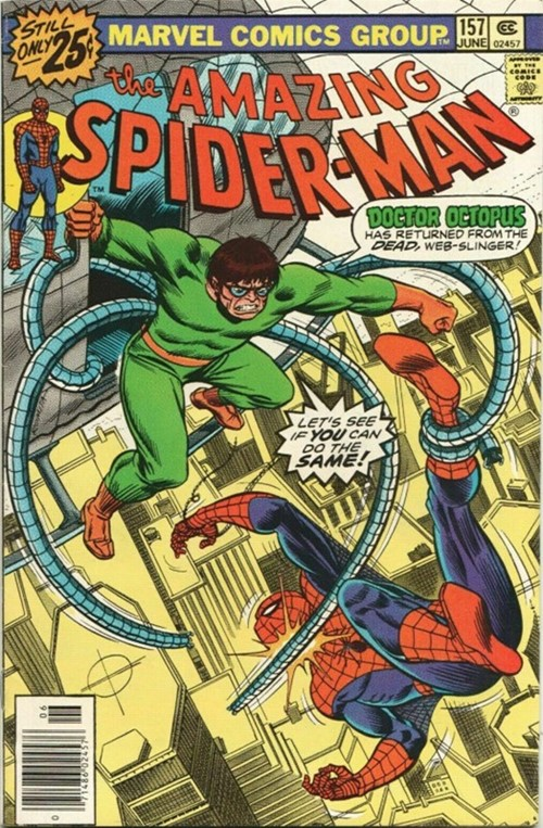 (Marvel) Cover for Amazing Spider-Man, The #157 Doctor Octopus Appearance, 25 Cent Edition