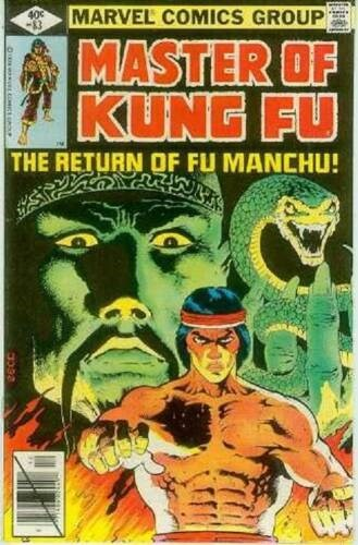 (Marvel) Cover for Master Of Kung Fu #83