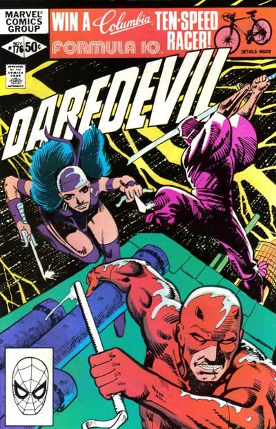 (Marvel) Cover for Daredevil #176 1st Appearance of Stick