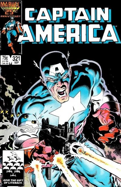 (Marvel) Cover for Captain America #321 1st Appearance of U.L.T.I.M.A.T.U.M.