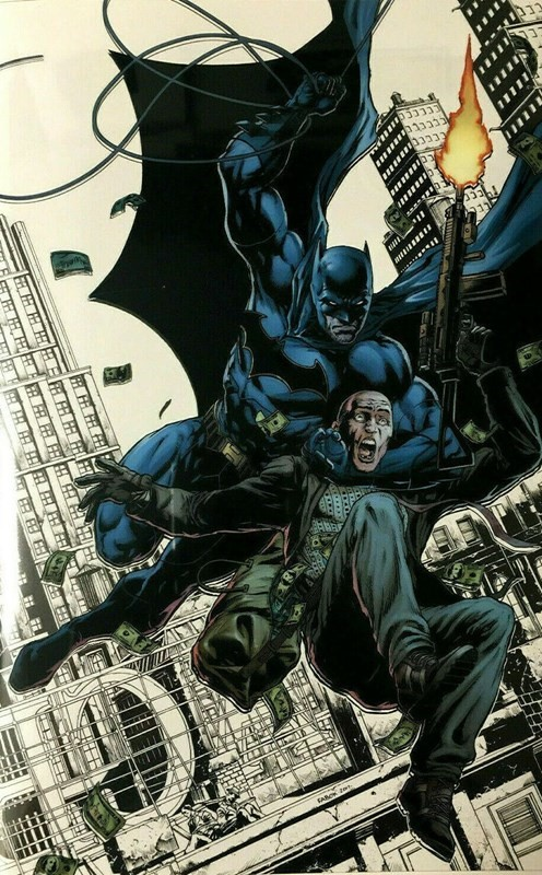 (DC) Cover for Detective Comics #27 Fan Expo Exclusive Jason Fabok White Variant Cover