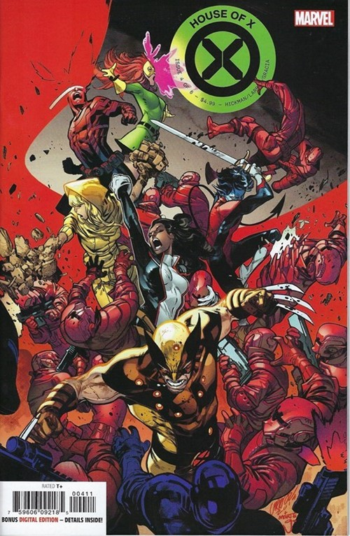 (Marvel) Cover for House Of X #4