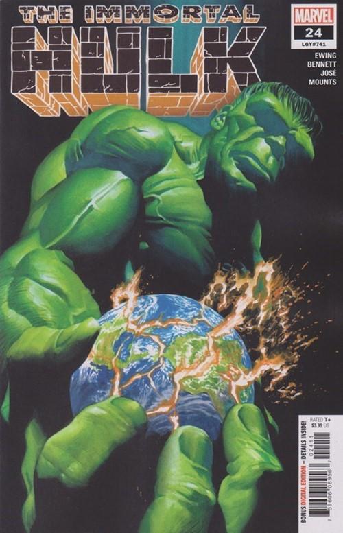 (Marvel) Cover for Immortal Hulk #24