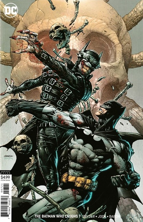(DC) Cover for Batman Who Laughs, The #7 David Finch Variant Cover