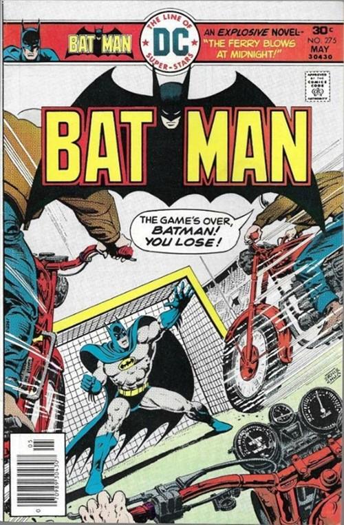(DC) Cover for Batman #275 1st Barcode in Batman Comics