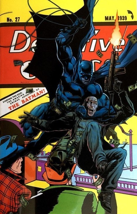 (DC) Cover for Detective Comics #27 Fan Expo Convention Exclusive Jason Fabok Acetate Variant Cover